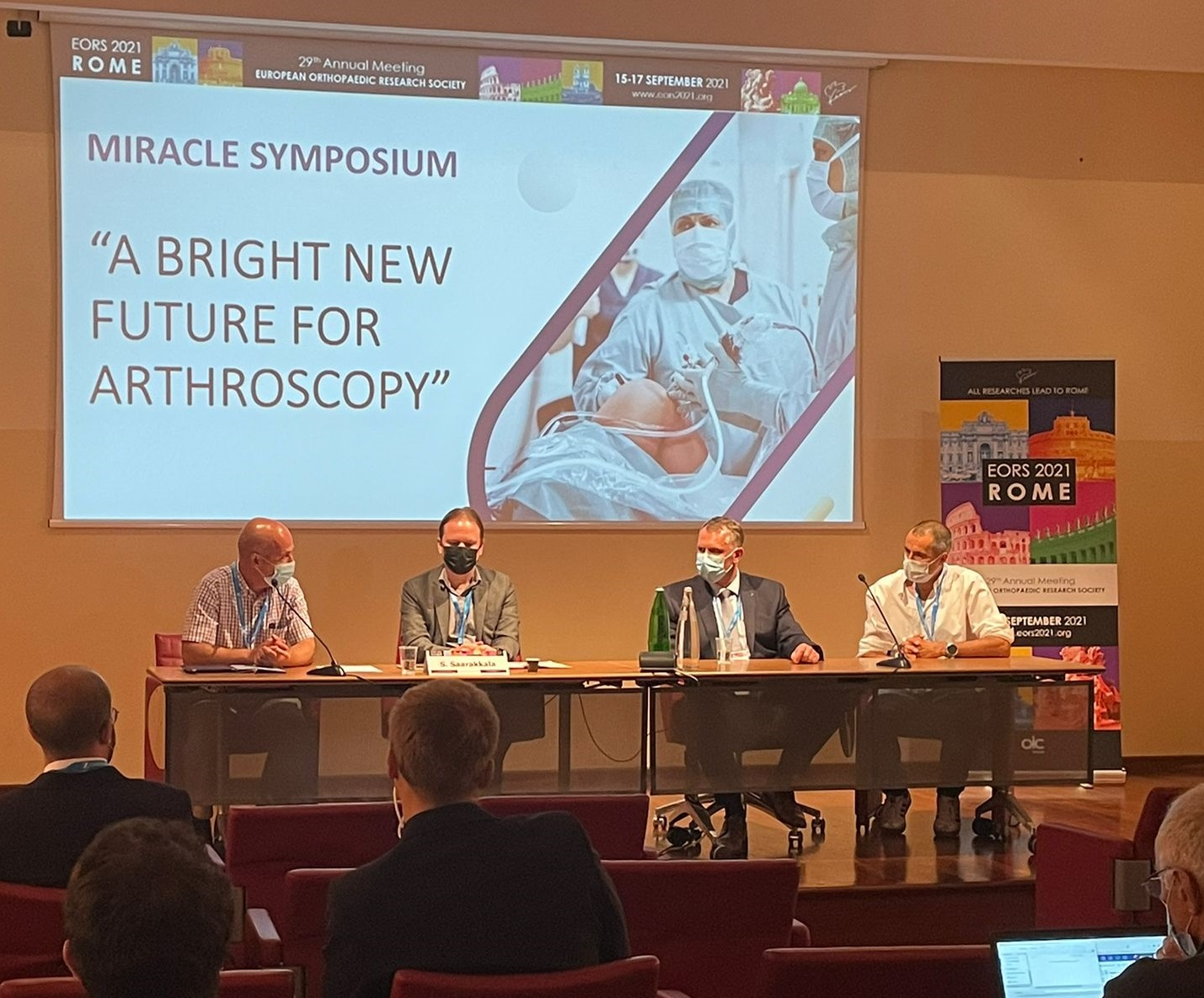 """The MIRACLE Symposium """"A Bright New Future for Arthroscopy"""""""