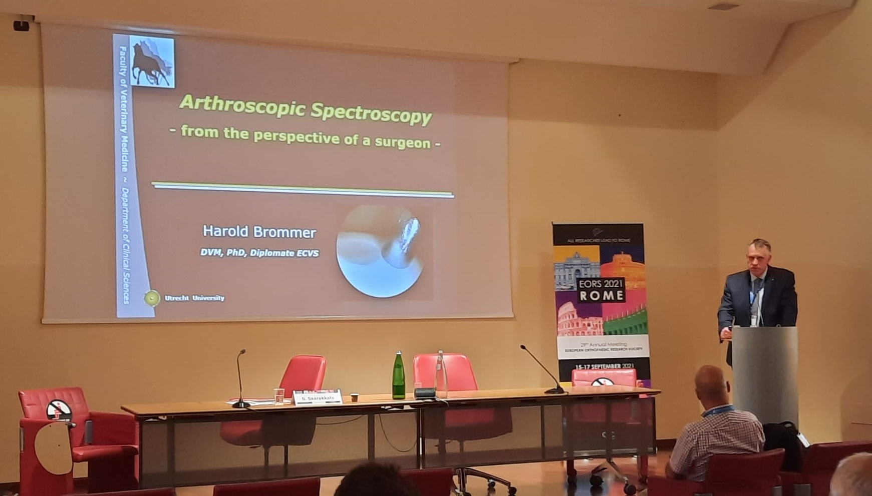 Arthroscopic Spectroscopy: from the perspective of a surgeon